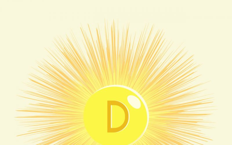 Sonne mit D beschriftet